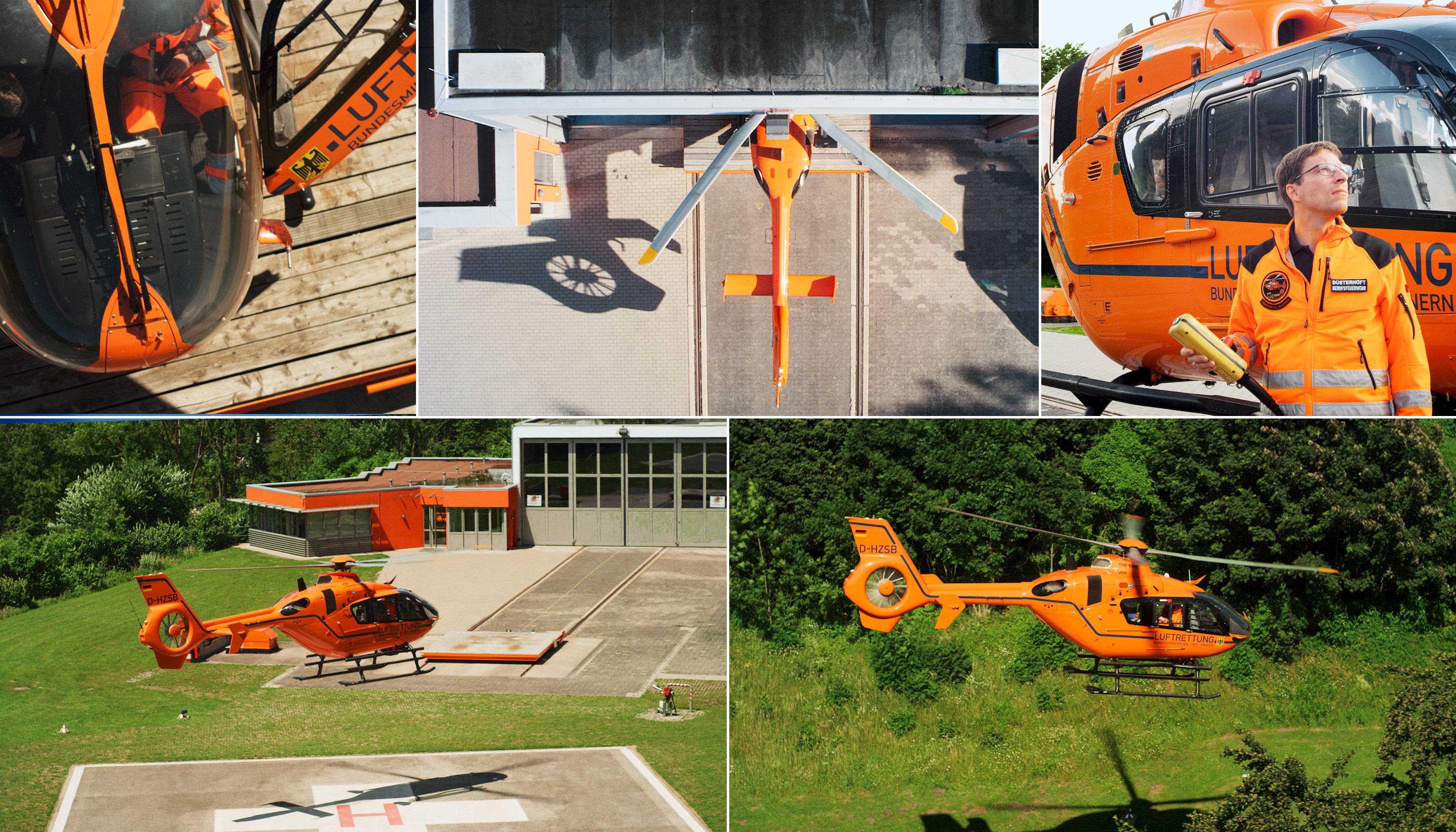 Christoph 13, Luftrettung, Feuerwehramt, Bielefeld, Bundespolizei, Making Of, Air2Air