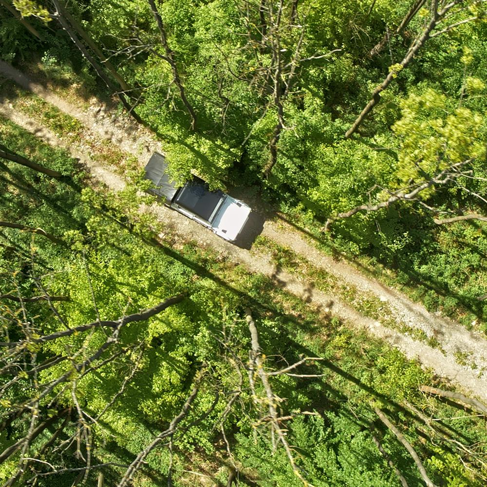 Fabriksnye Bilster Berg - Offroad - kopterwork | aerial filming and photography WF-85