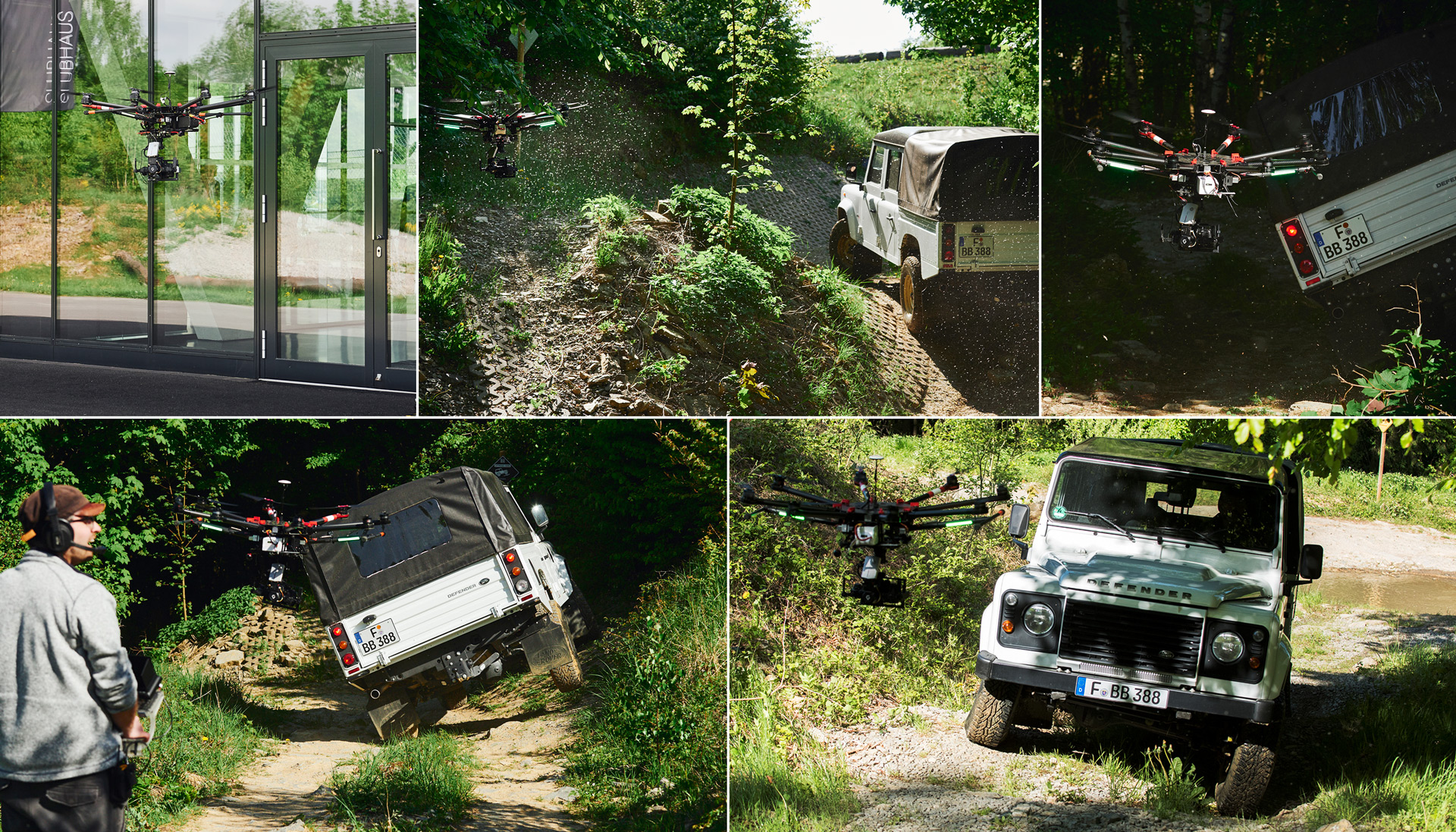 Smuk Bilster Berg - Offroad - kopterwork | aerial filming and photography LX-91