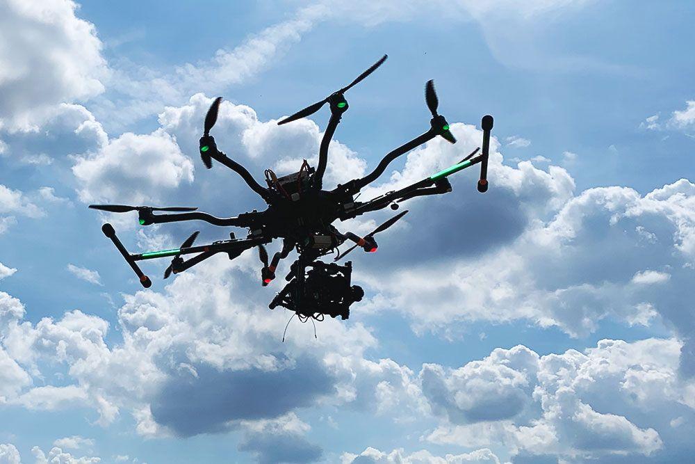 Freefly Alta 8, ein Drohnensystem von kopterwork
